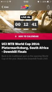 15 mins to go until the DH World Cup kicks off